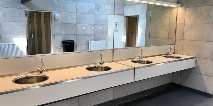 Renovatie sanitairgebouwen