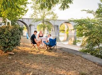 RCN la Bastide en Ardèche | Kampeerplaats met rivierzicht