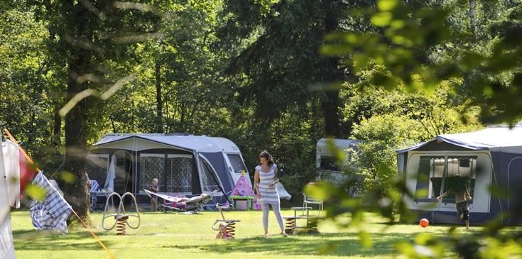 Verblijf op kampeerplaatsen