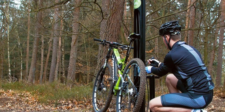 Fix and Ride fietspaal