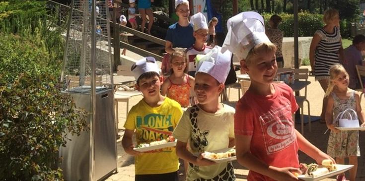Kinderen culinair aan de slag