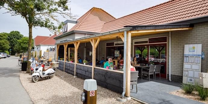 Brasserie en terras