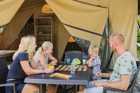 Tente safari Larzac