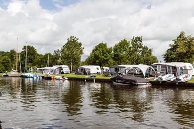 Kampeerhaven incl. ligplaats RCN de Potten