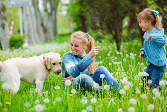 RCN-Vakantieparken-moeder-en-kind-met-hond