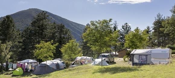 RCN les Collines de Castellane | Kampeerplaats Comfort