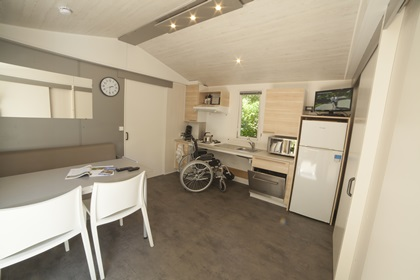 Mobil-home accessible aux person Sarlat - Max. 4 personnes - 4LMV R XL