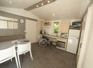 Wheelchair accessible mobile home Sarlat