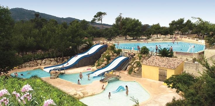 Vakantiepark in de Provence
