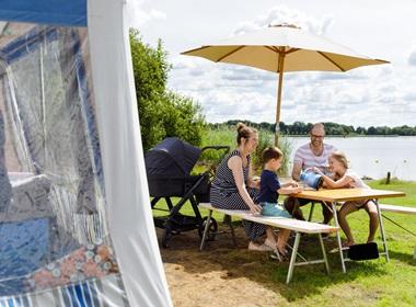 RCN Zeewolde | Comfort Buitendijkse kampeerplaats