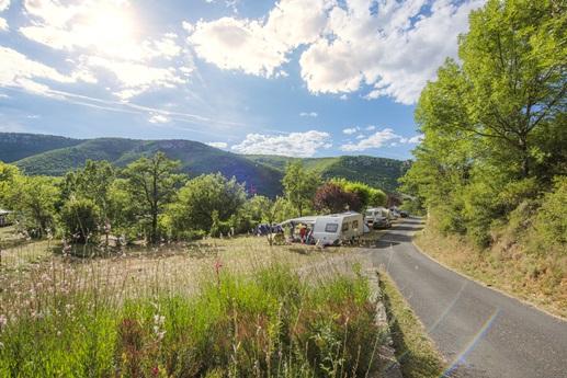 RCN-Val de Cantobre-kampeerplaatsen