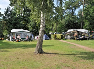 RCN de Jagerstee | Comfort kampeerplaats