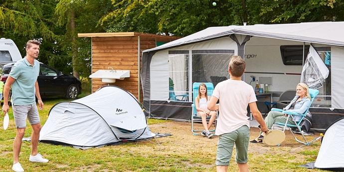Camping met privé sanitair Zuid-Holland