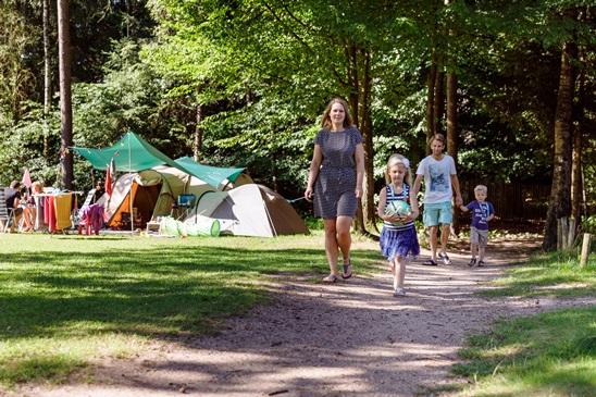 Über Pfingsten campen