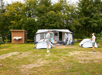 RCN de Jagerstee | Comfort campingpitch with private facilities
