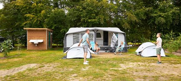 RCN de Jagerstee | Comfort kampeerplaats met prive sanitair