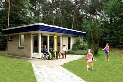 Rolstoeltoegankelijke bungalow Pluto - 4 persoons bungalow - RA4