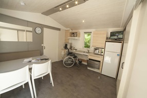 Rolstoeltoegankelijke mobil home Nice -  Max. 4 personen (4LNVR+)