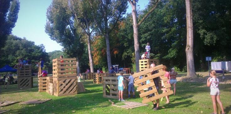 Groepsactiviteiten op en rond ons park