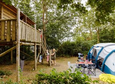 RCN de Schotsman | Basisstellplatz mit Baumhütte