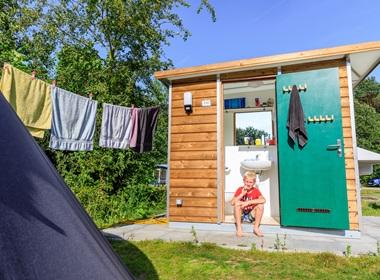 RCN Toppershoedje | Kampeerplaats met privé sanitair