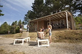 Chalet Menthe - 6 persoons chalet - CH6LC plus
