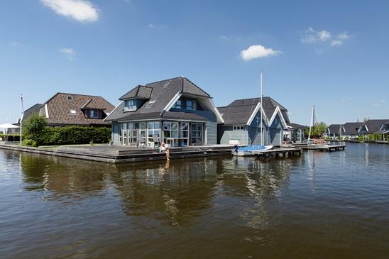 Luxe villa's in Friesland