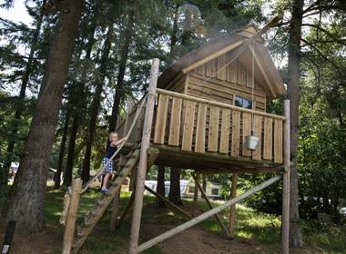 RCN de Noordster | Basisstellplatz mit Baumhütte