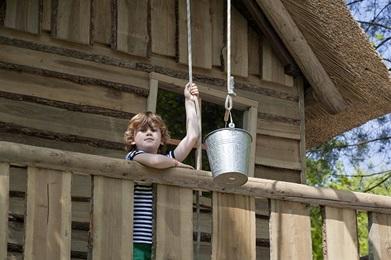 RCN de Schotsman | Comfort kampeerplaats met boomhut