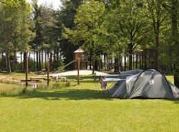 Tentkampeerplaats op De Wildenberg