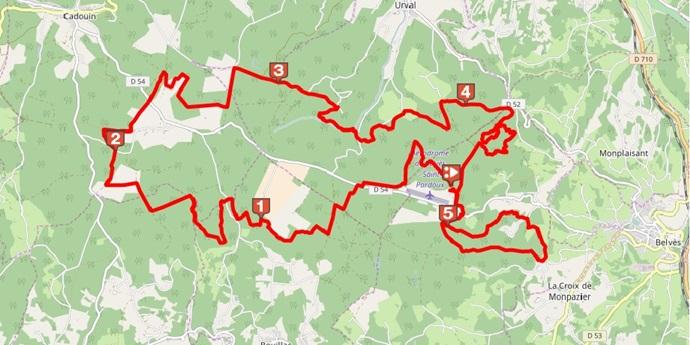 Belvès - Ronde des Sangliers