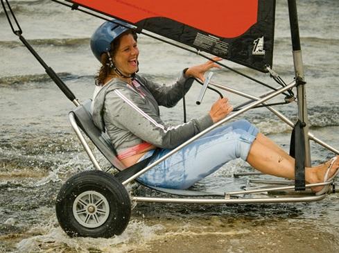 Strandsegeln oder Kite-Buggy fahren?